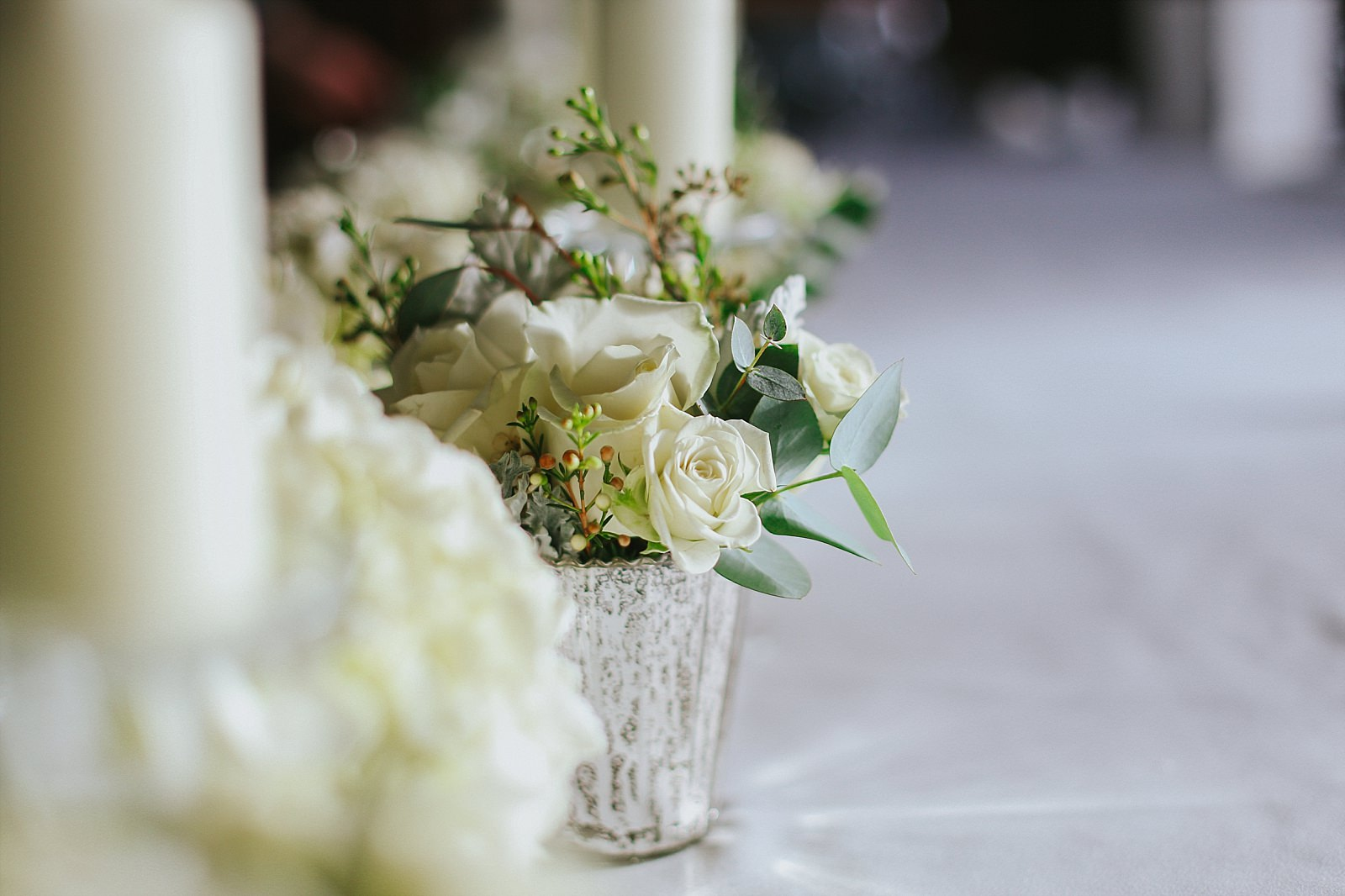 small wedding flower photography at Knowsley hall in Liverpool