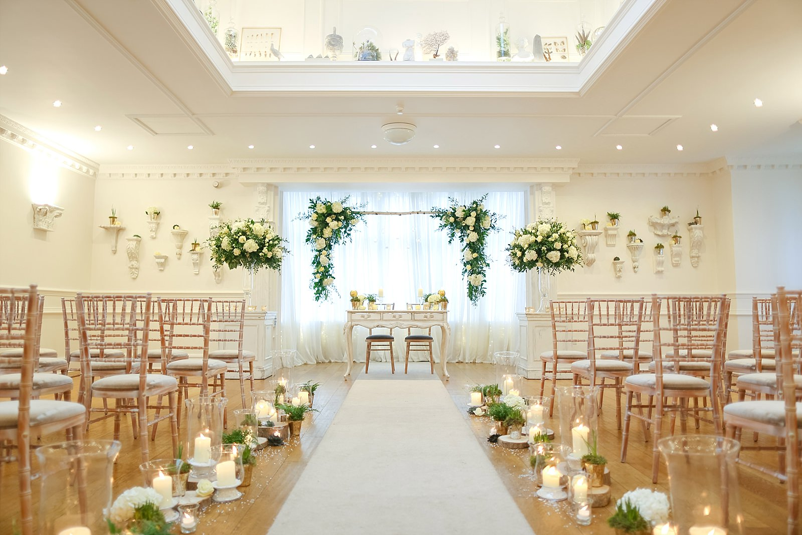 Ashfield house wedding venue ceremony room