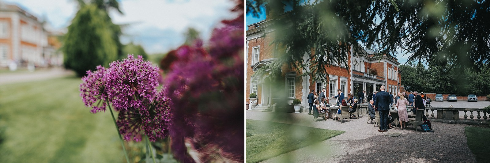 eaves hall wedding photographer captures the grounds