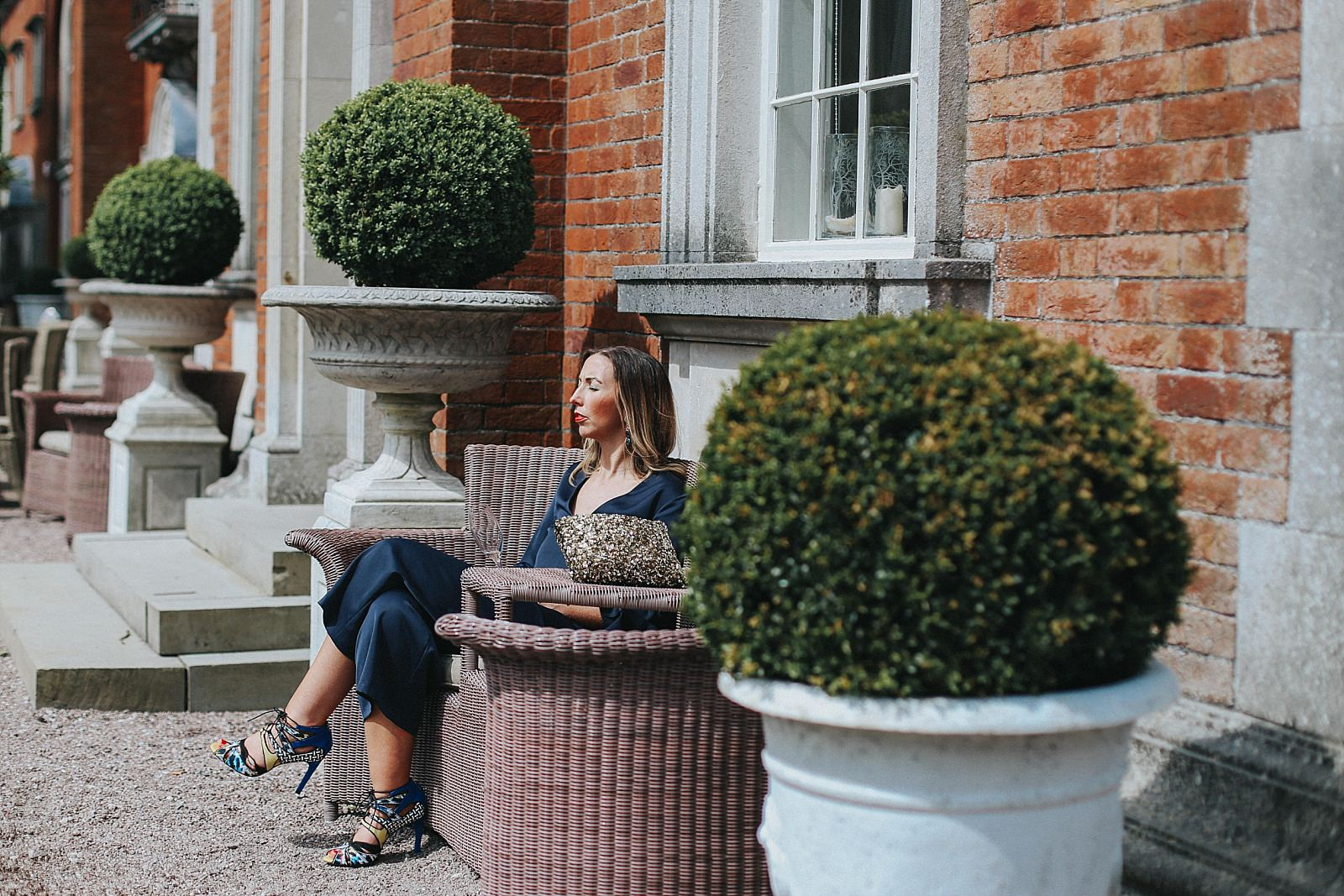guests relax at eaves hall