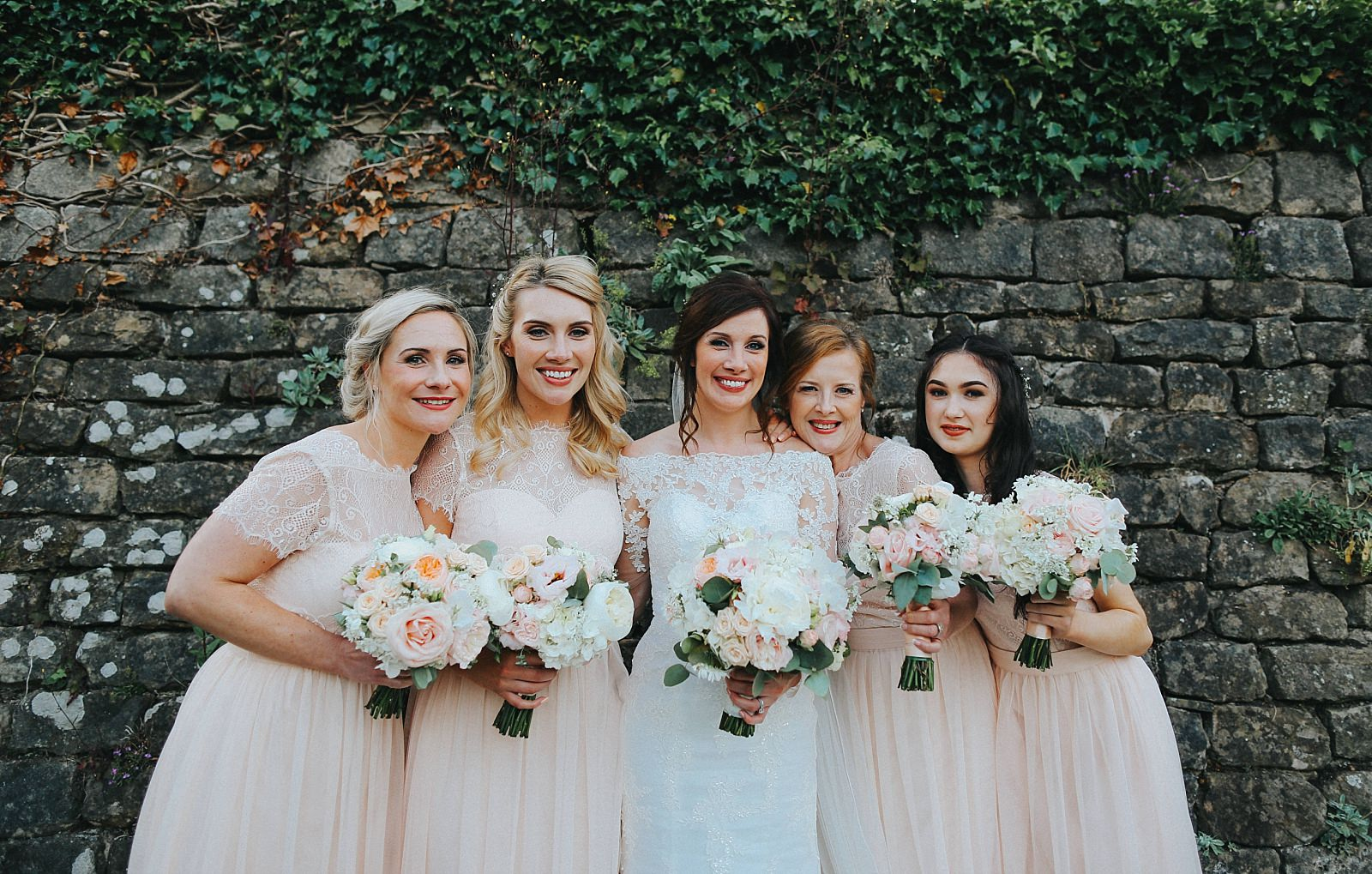 eaves hall wedding photographer captures the beautiful bridesmaids