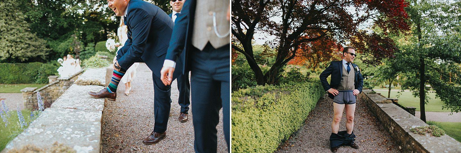 wild groomsmen