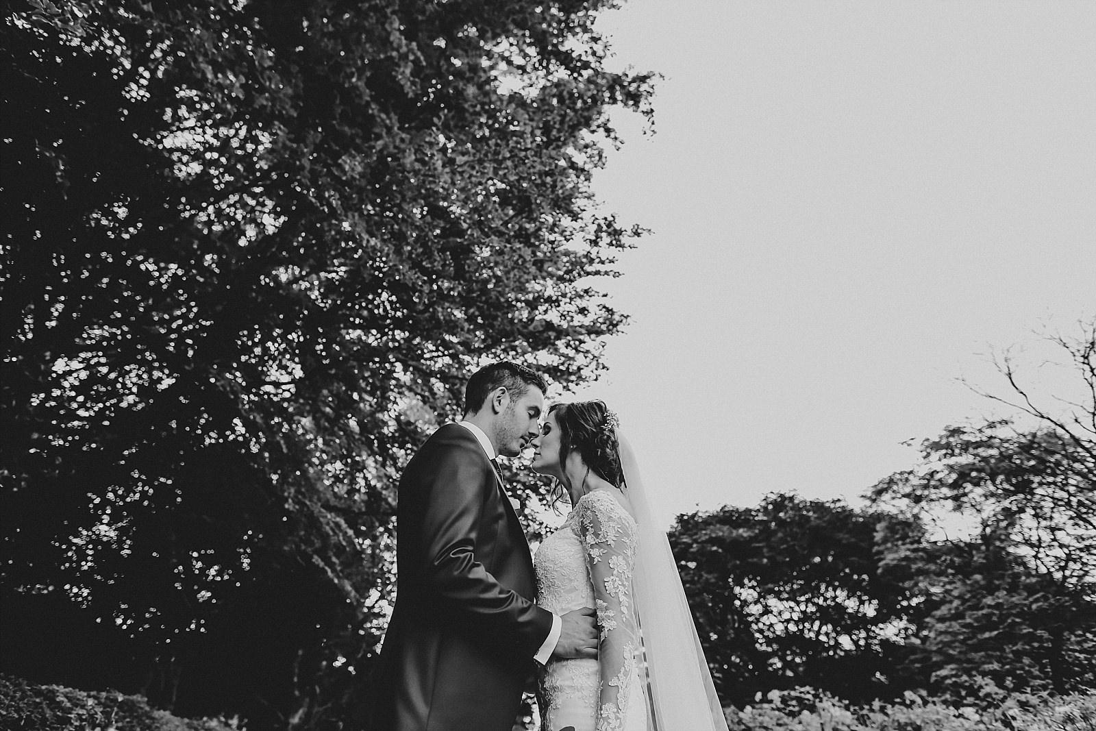 eaves hall wedding photographer posed image