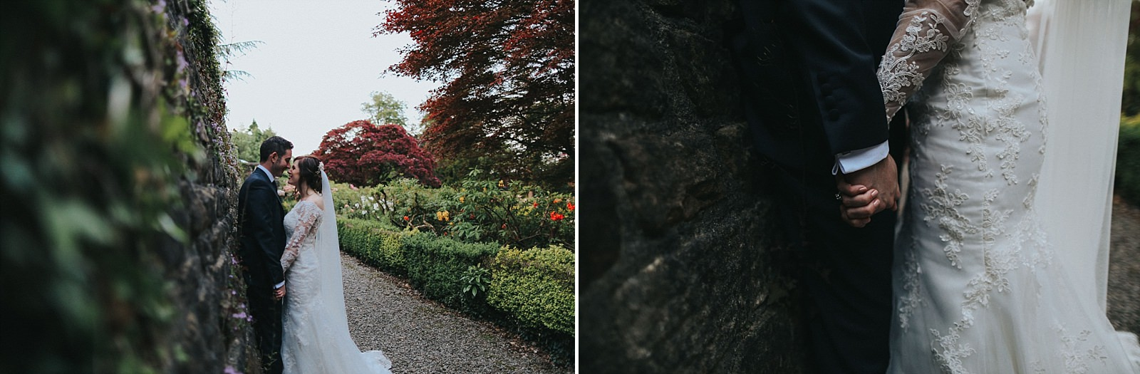 gorgeous grounds captured by eaves hall wedding photographer