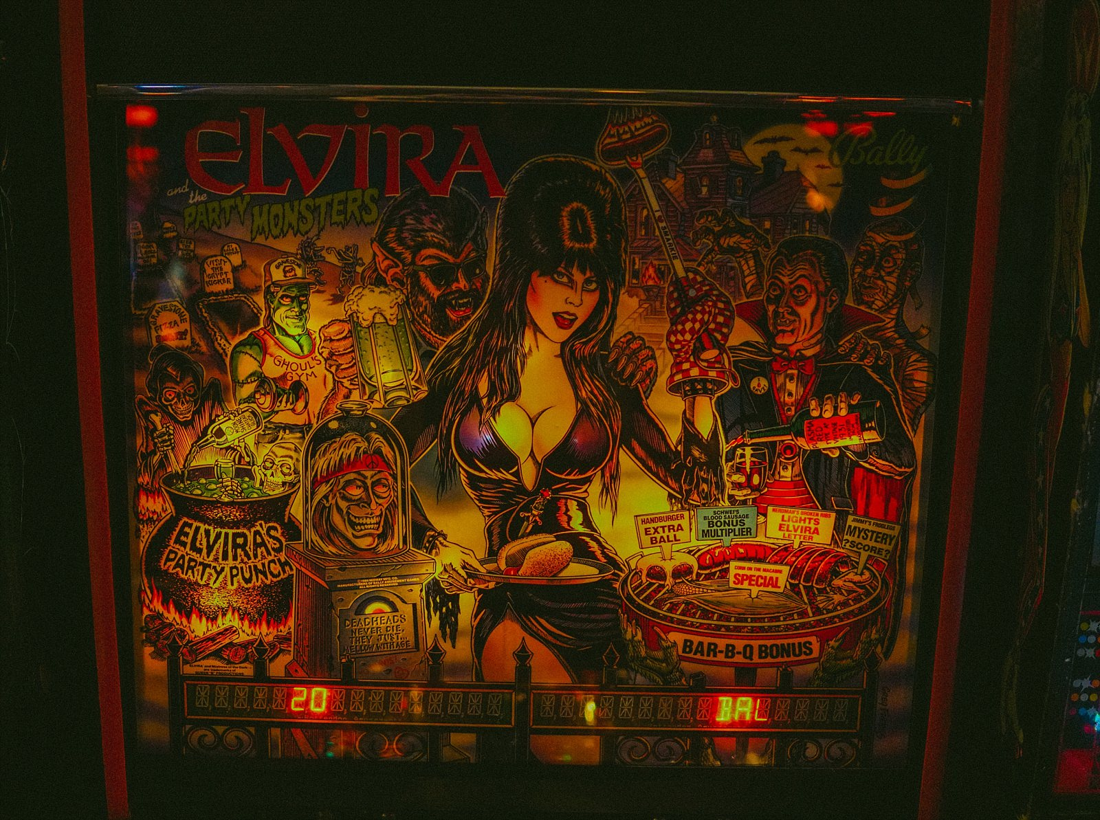 pinball machine graphics