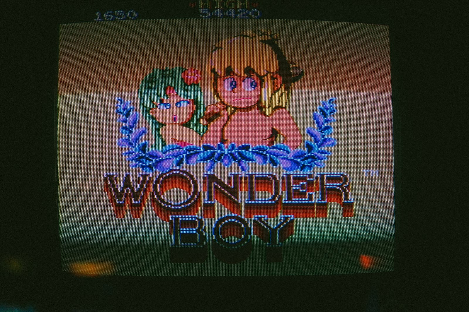 wonder screen in arcade club