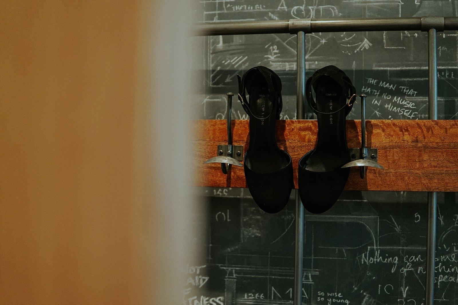 Brides black alternative shoes