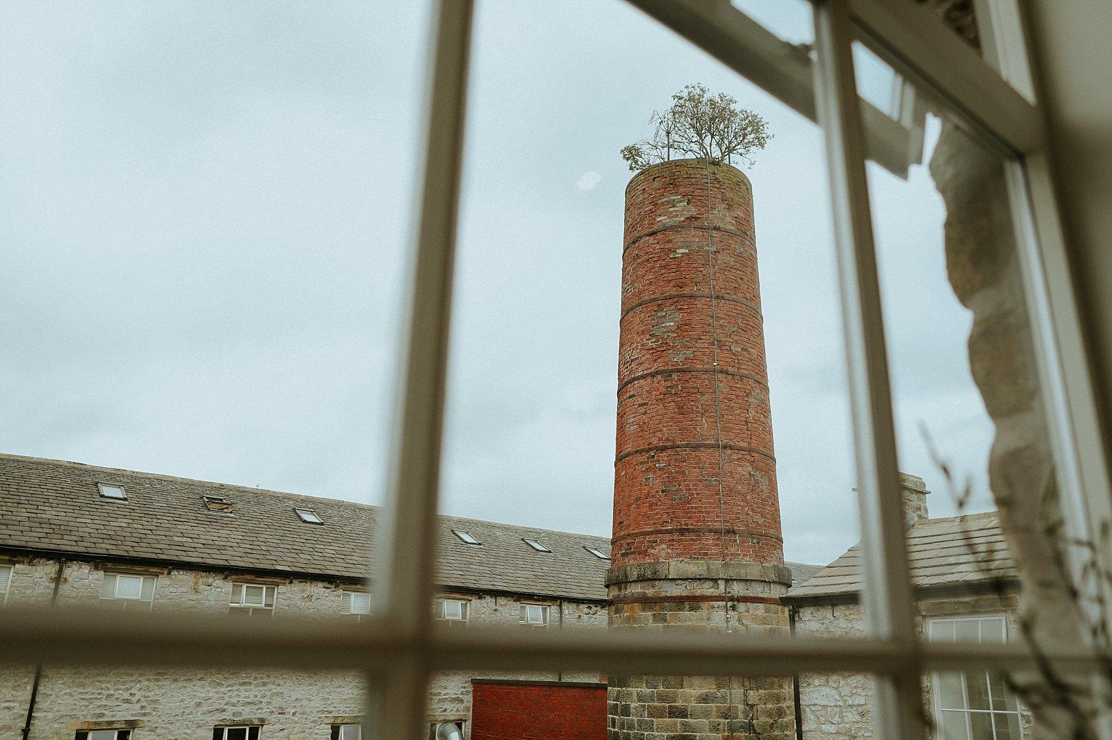 Holmes mill chimney