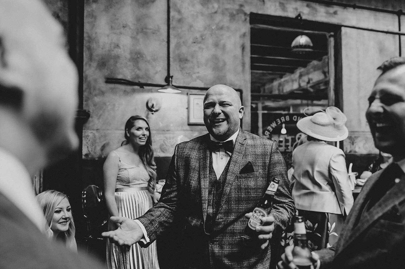 fun wedding guests