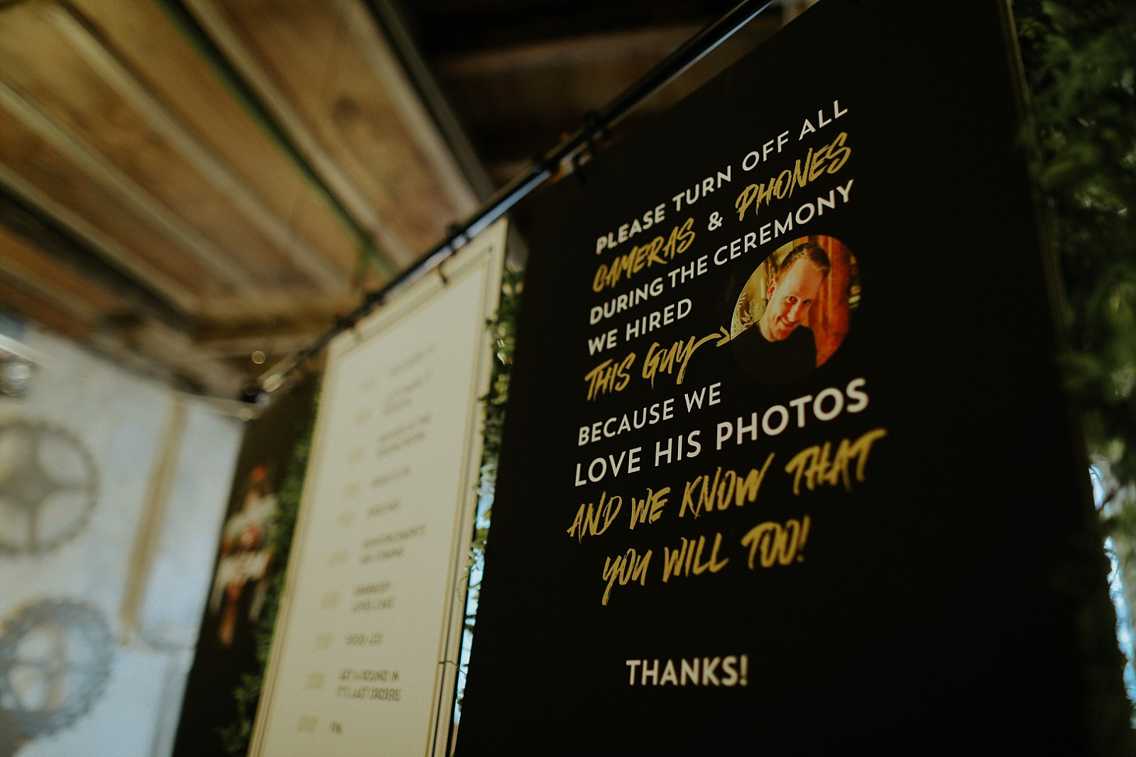 embee photography in wedding artwork at holmes mill