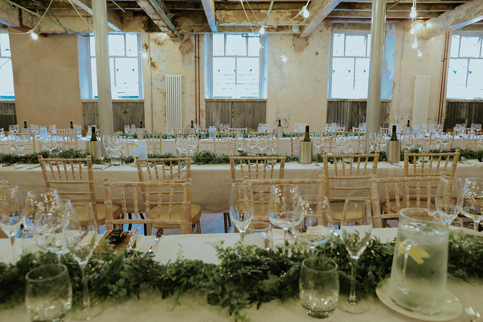 holmes mill wedding venue set out
