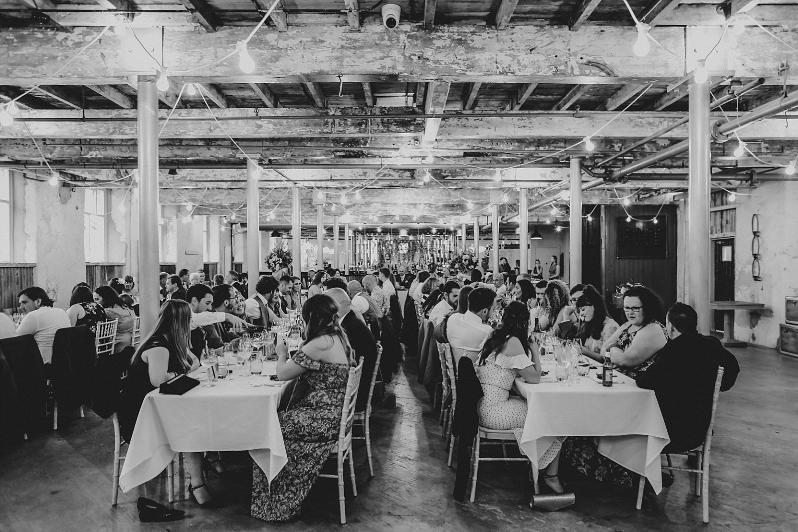 Holmes mill industrial wedding venue