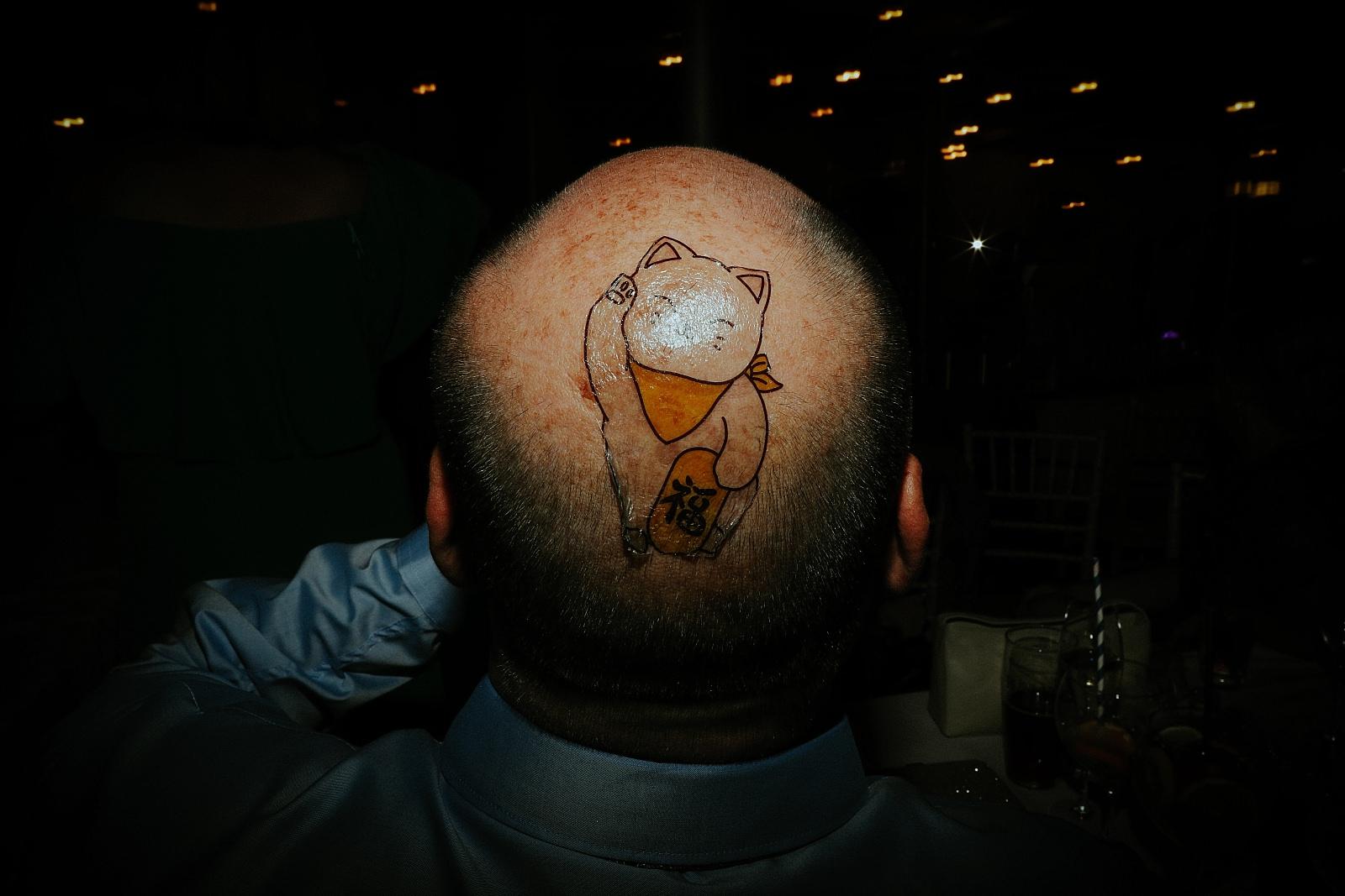 tattoo on bald head