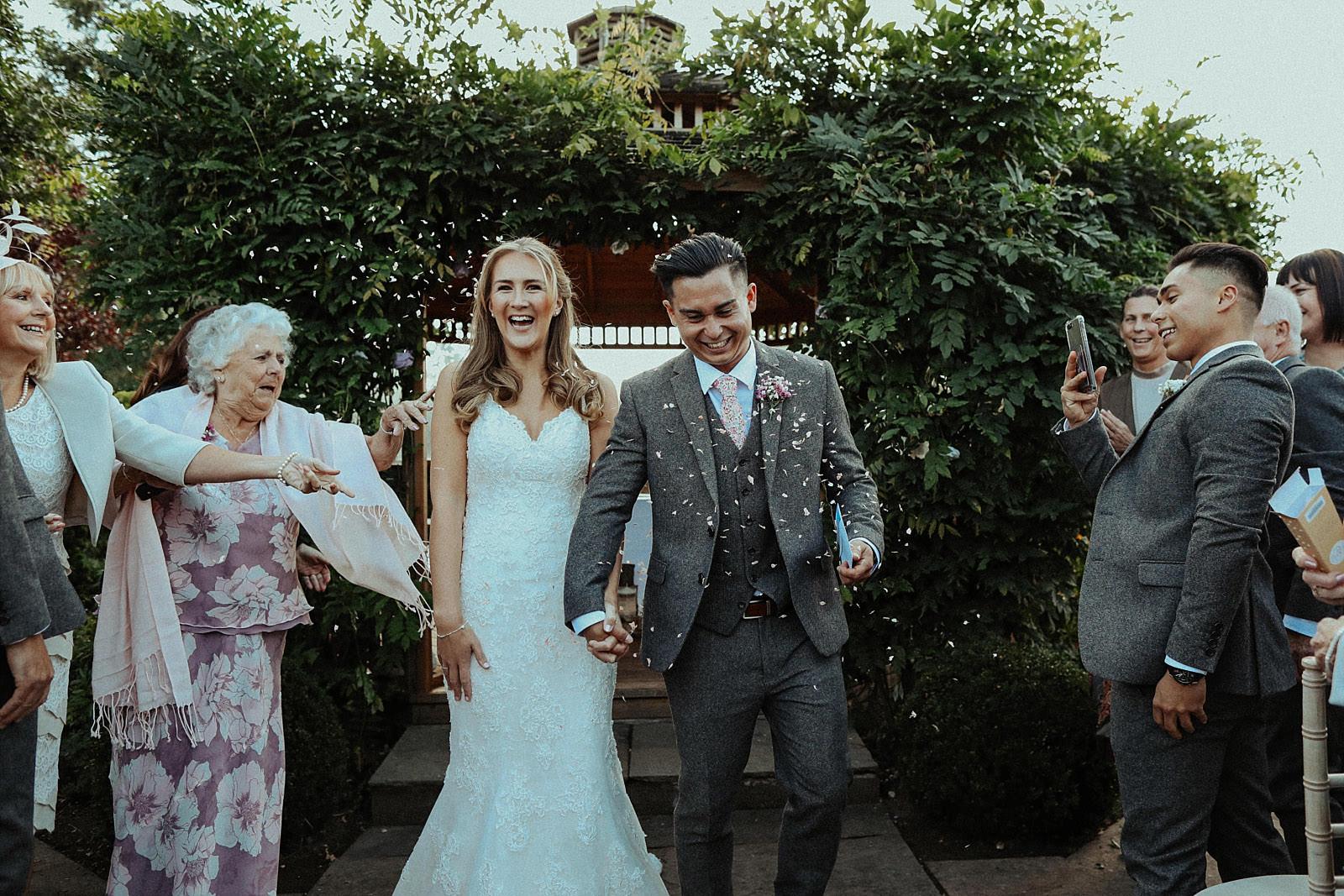 rustic wedding at pryor hayes golf venue