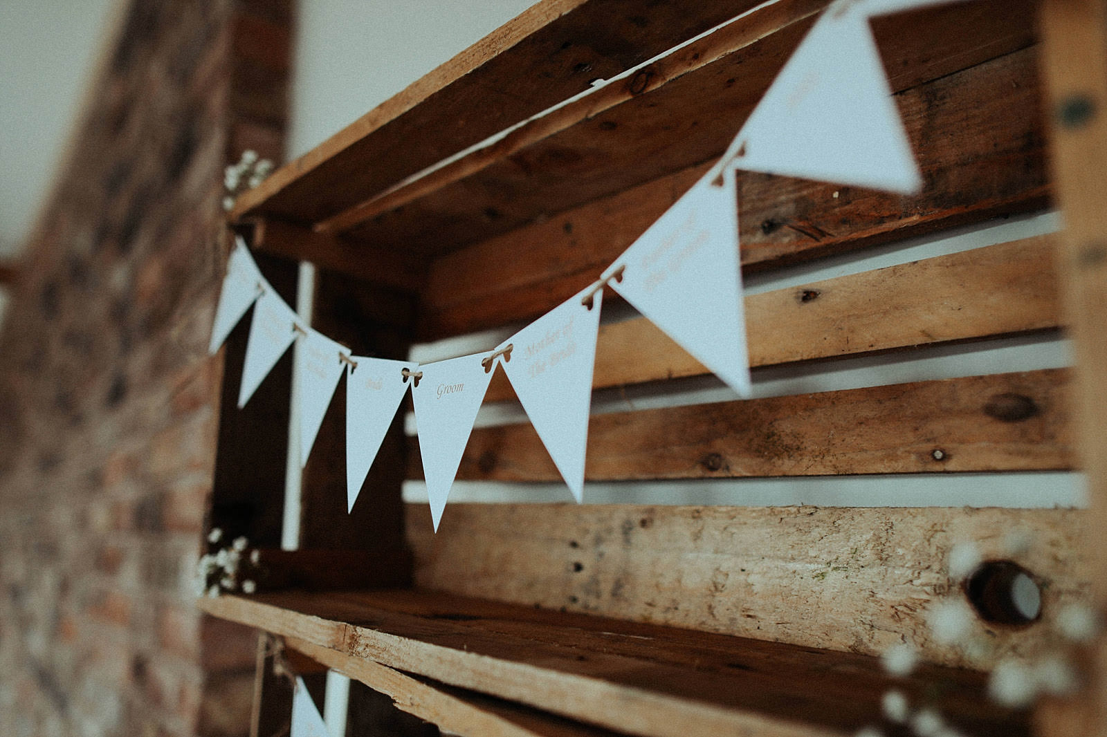 rustic table seating plan