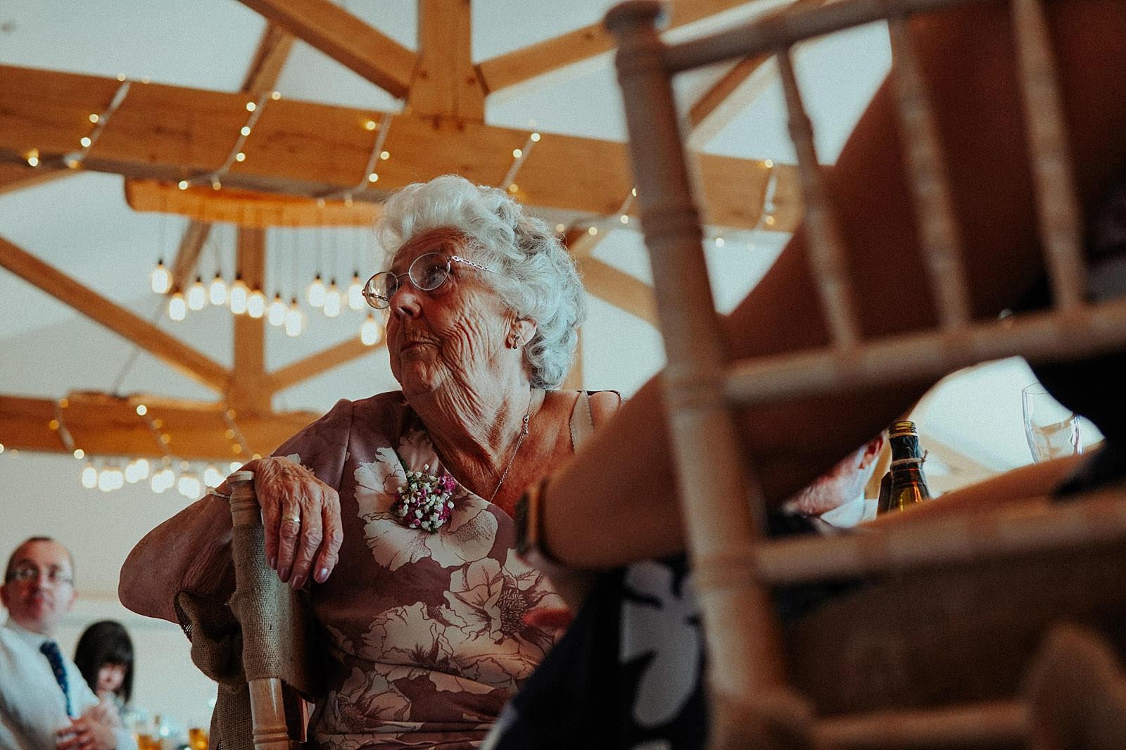 tearing nan at wedding