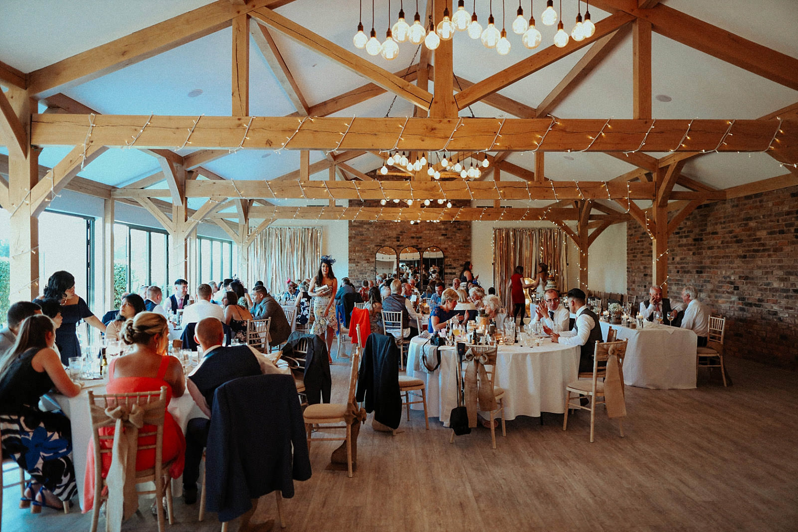 inside pryors hayes wedding venue main room