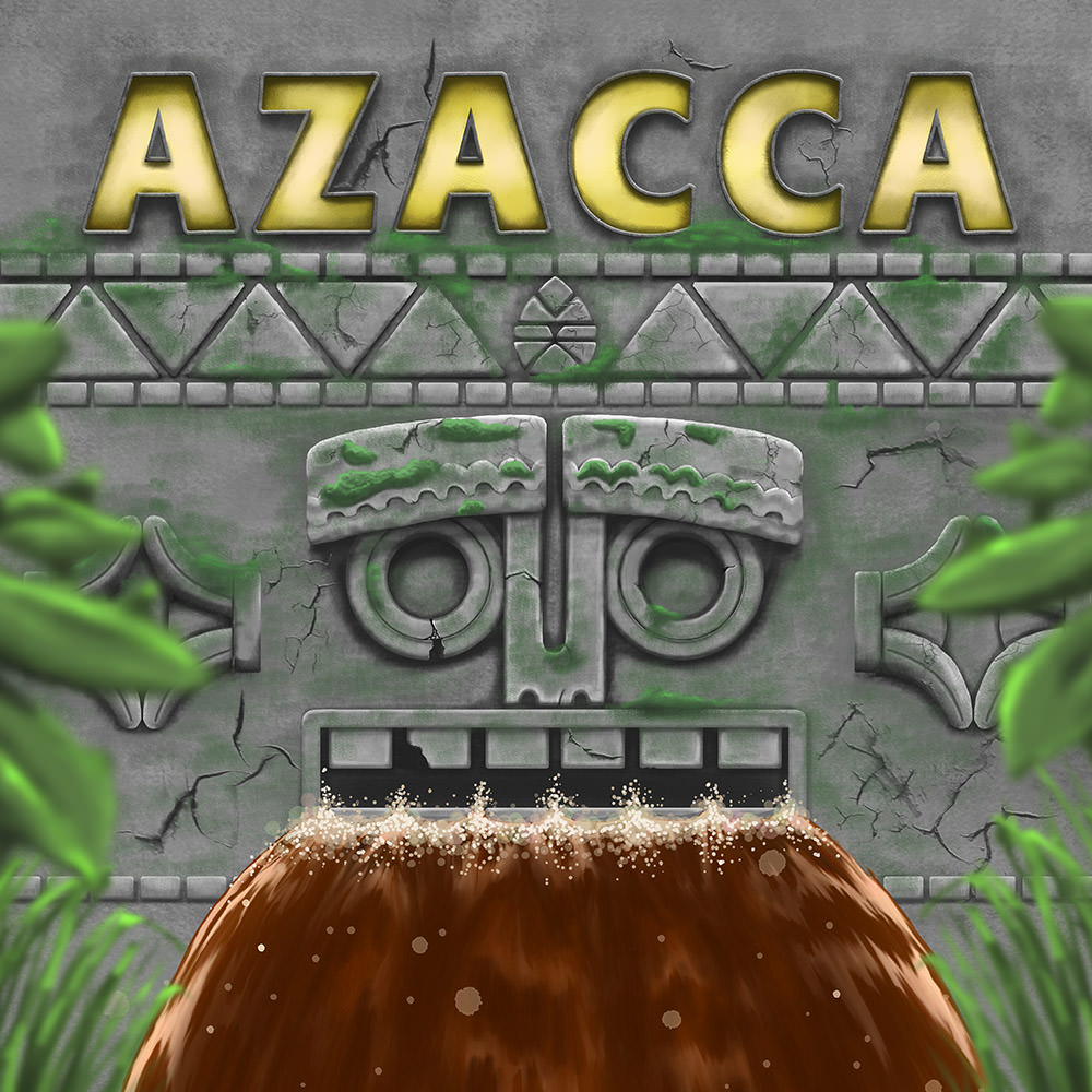 manchester beer clip design of azacca