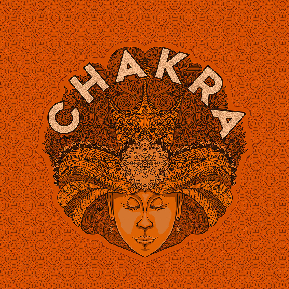 chakra indian beer design for wily fox