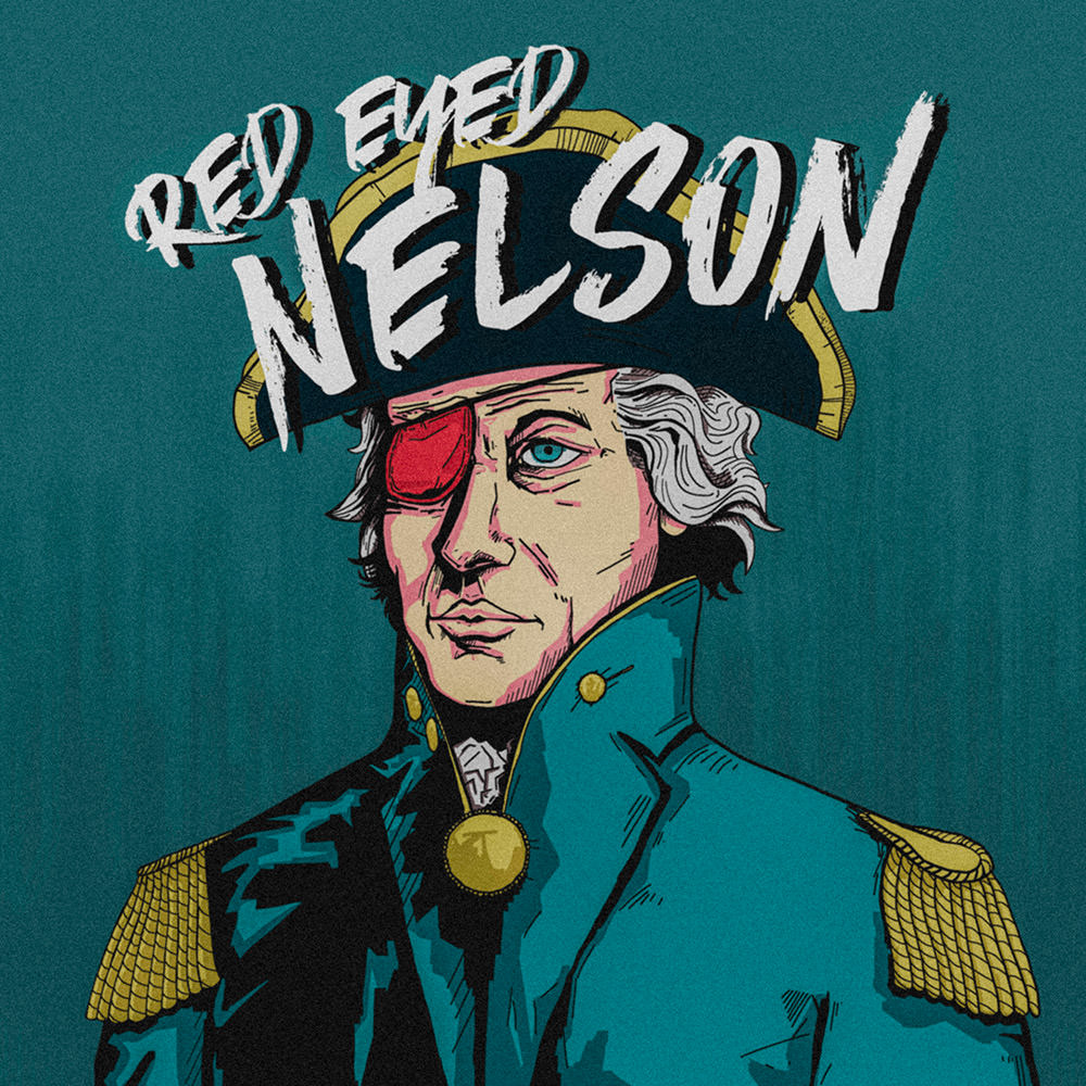 red eyed nelson graphic design by matt burgess