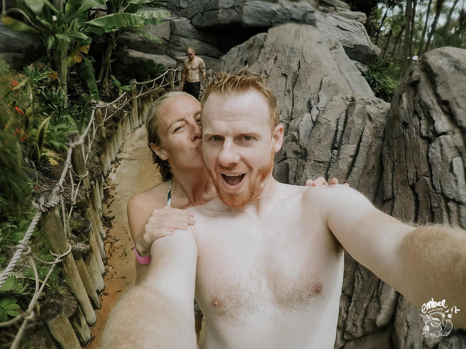 go pro selfie and wedding photographer and his wife