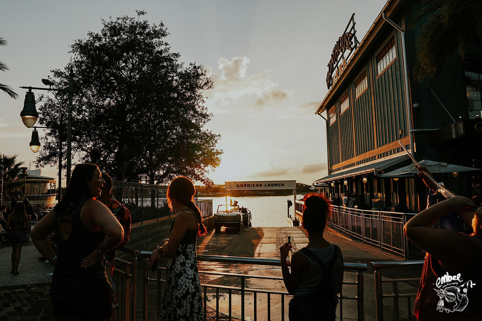 sunset in disney springs