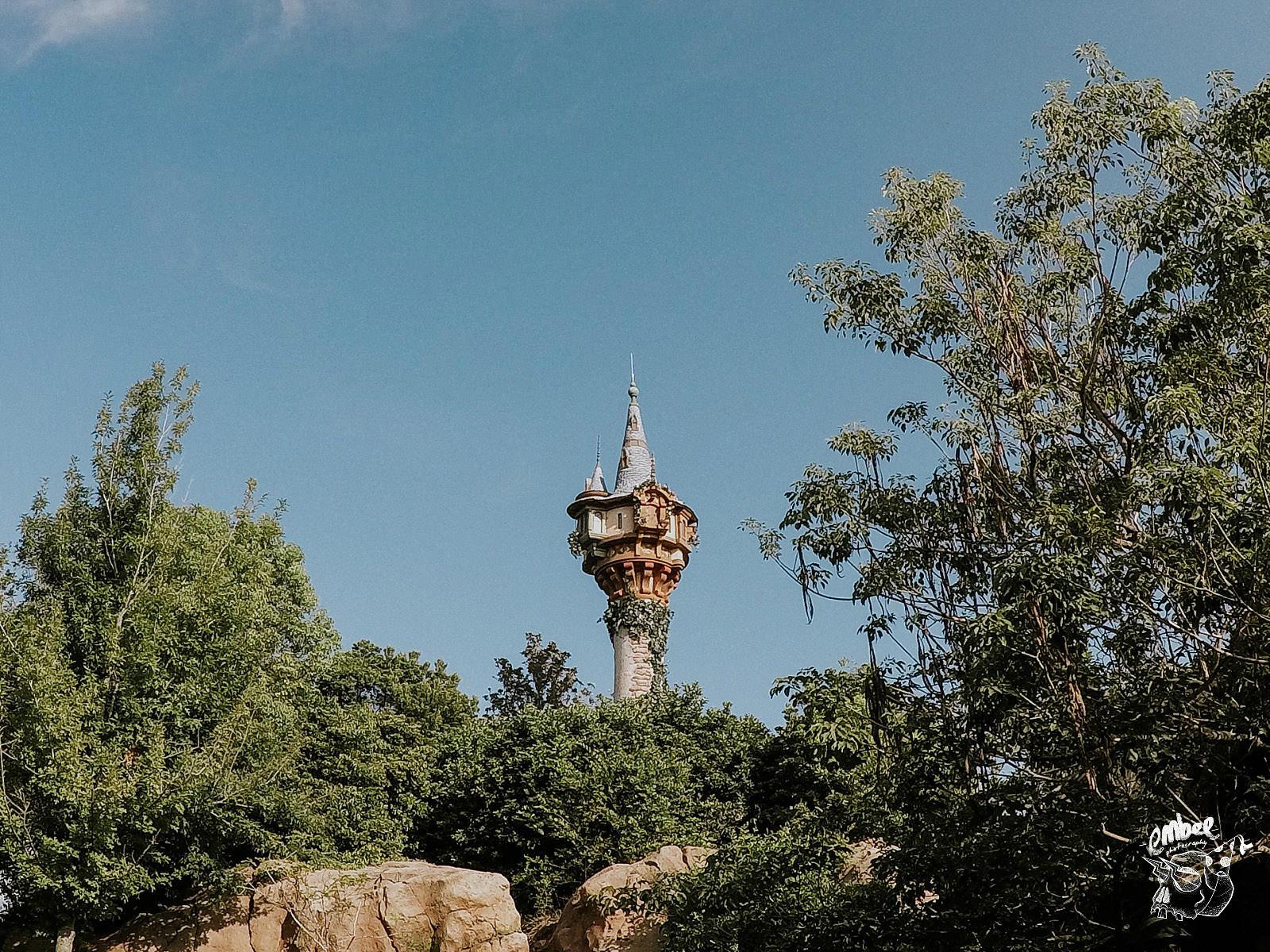 repunzels tower in magic kingdom