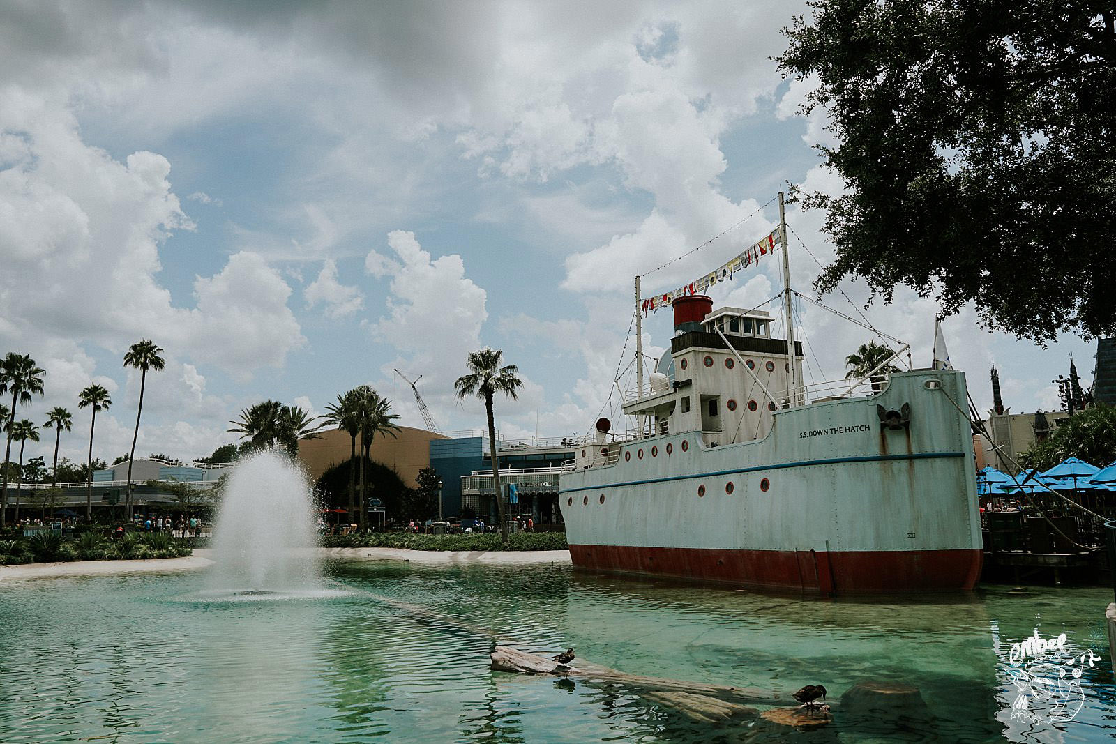 steam boat at hollywood studios