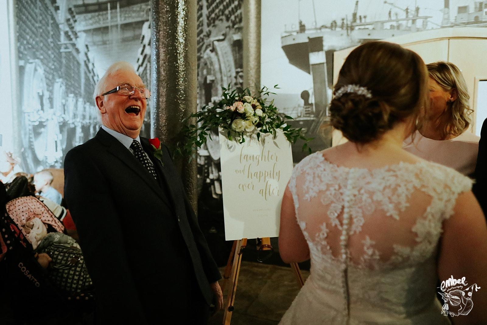 grandad laughing