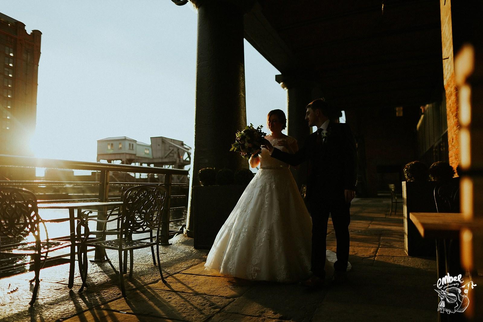 Titanic Hotel Liverpool Wedding Photography