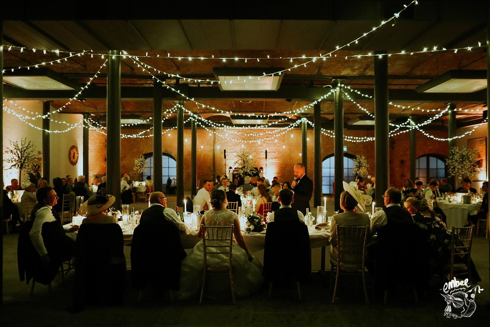 wedding speeches at titanic hotel