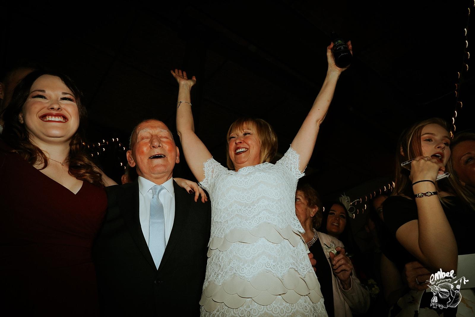 crazy wedding guests
