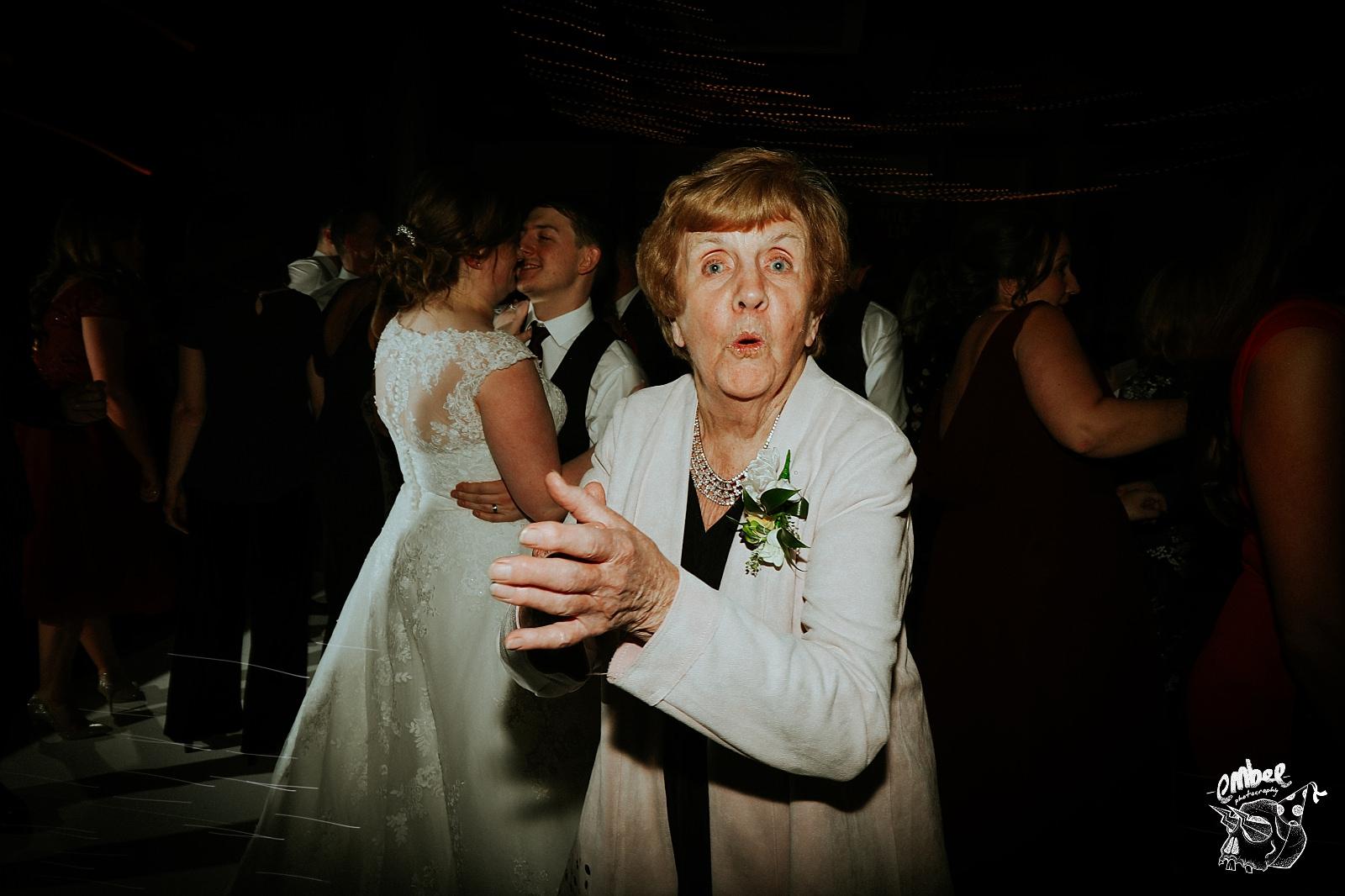 nan on the dance floor