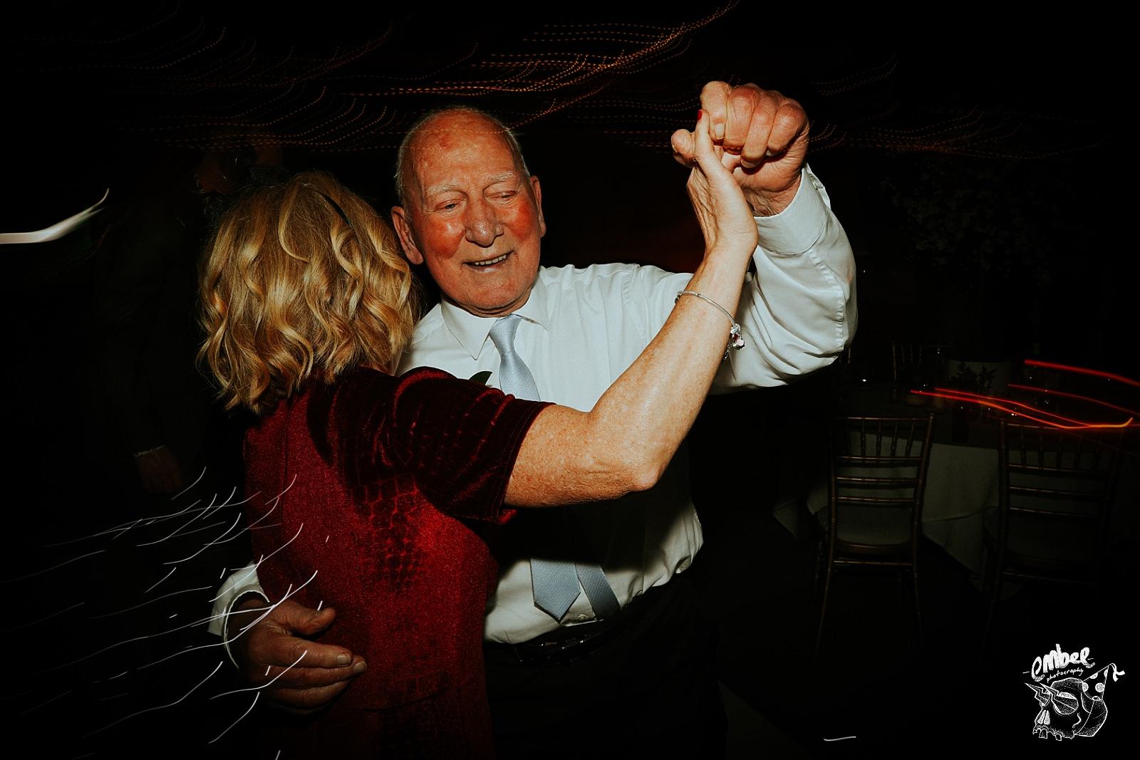 dancing grandad