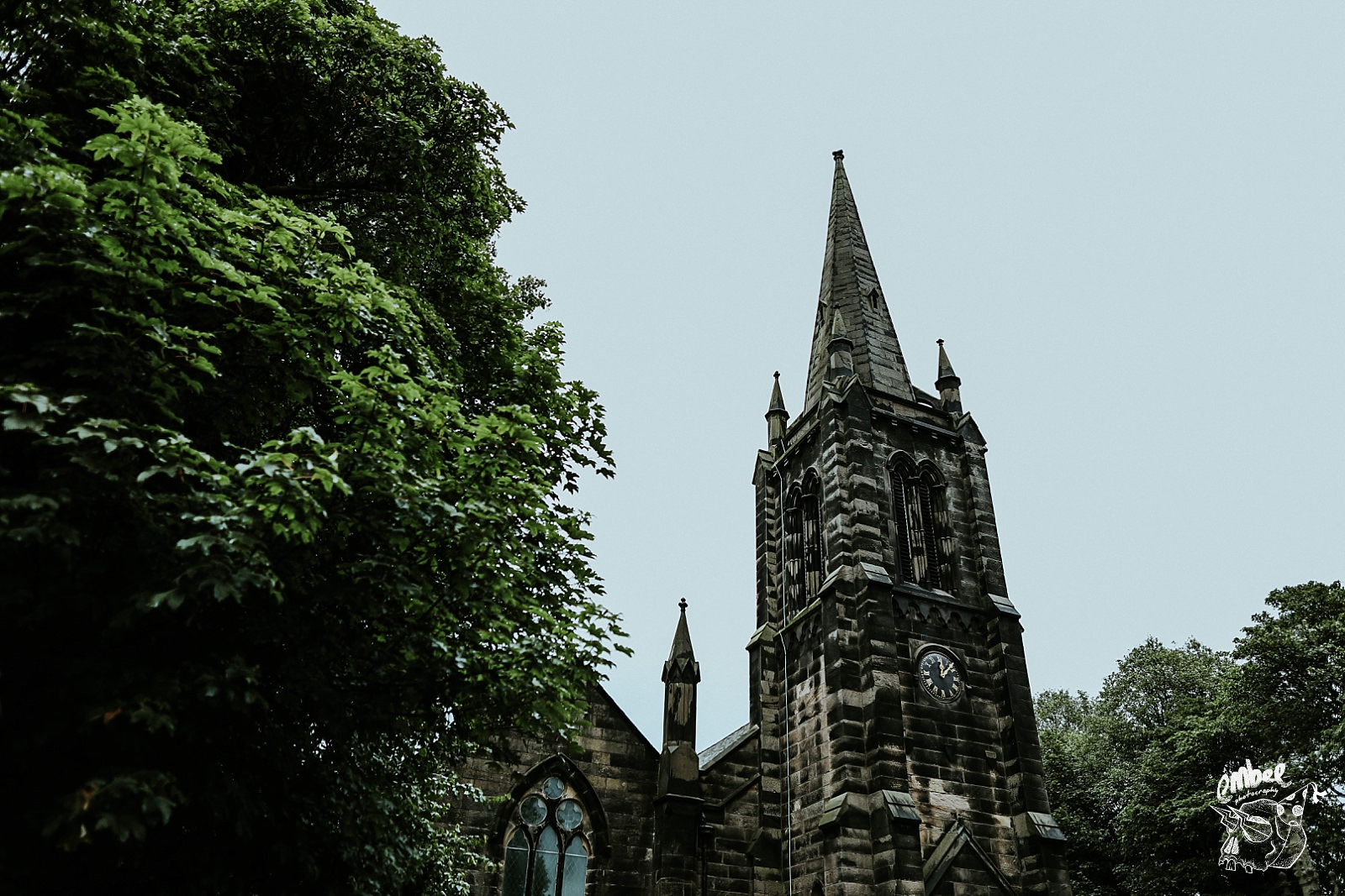 church steeple in burscough