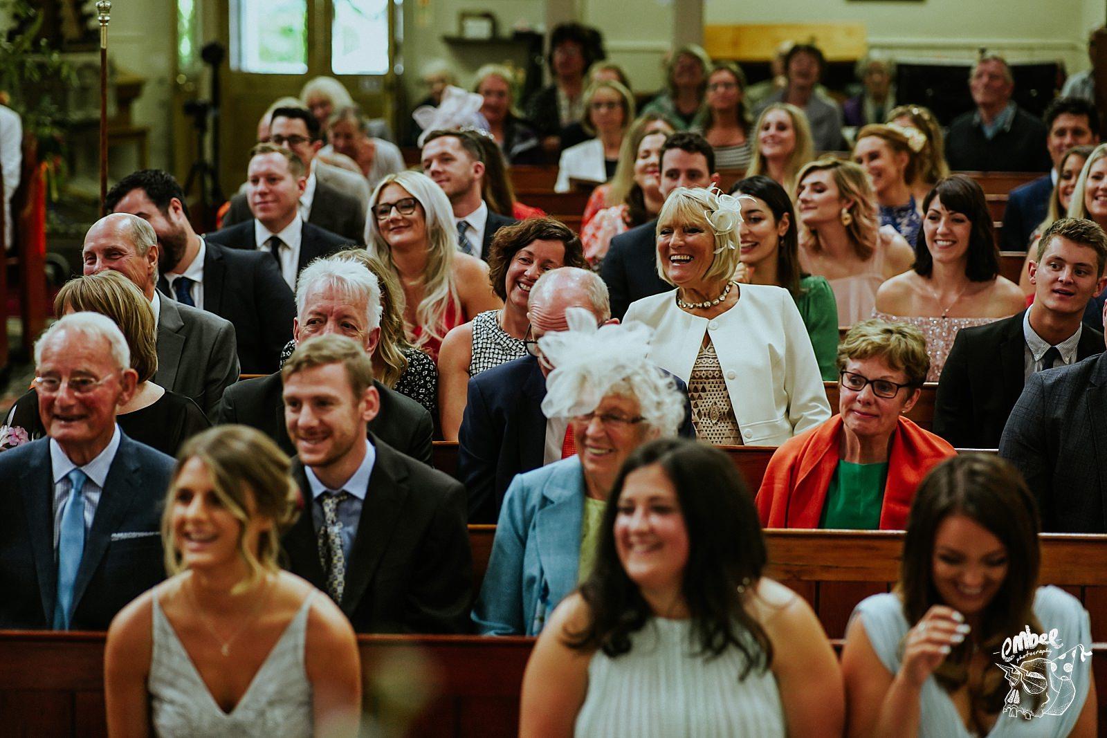 guests in church