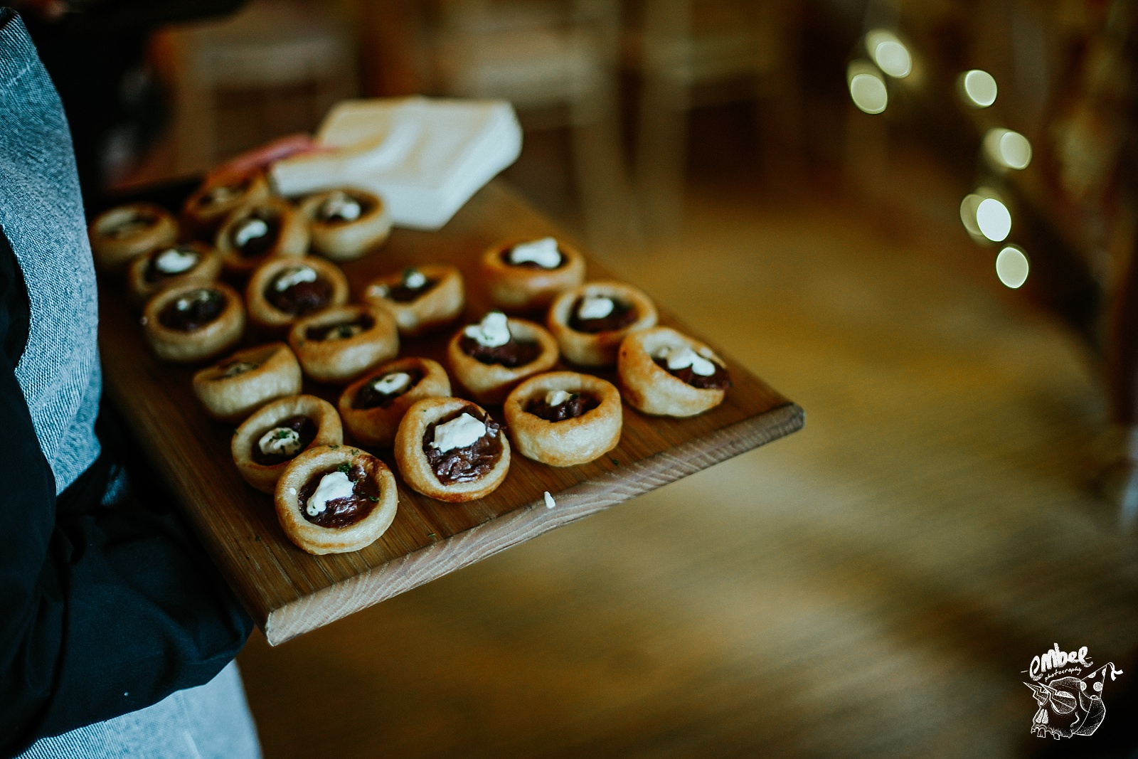 yorkshire pudding canapes