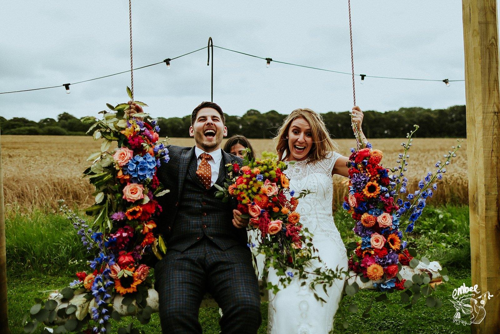 Tipi wedding photography in lancashire
