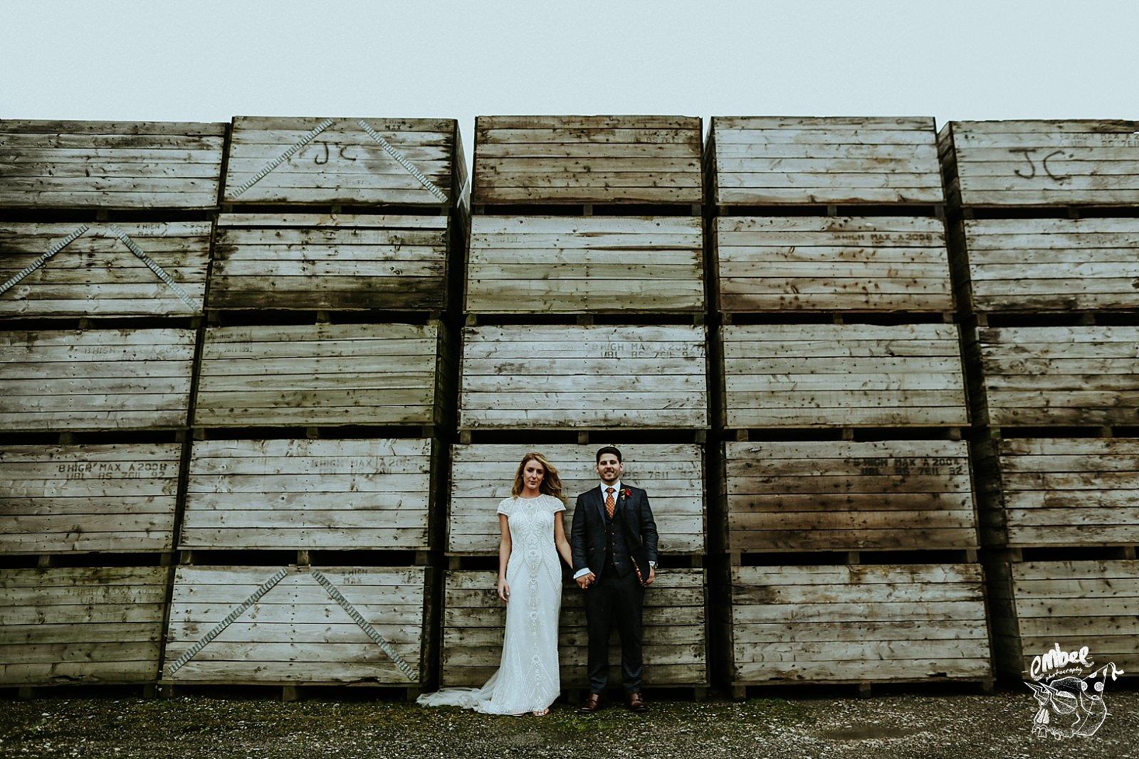 alternative wedding photography portraits
