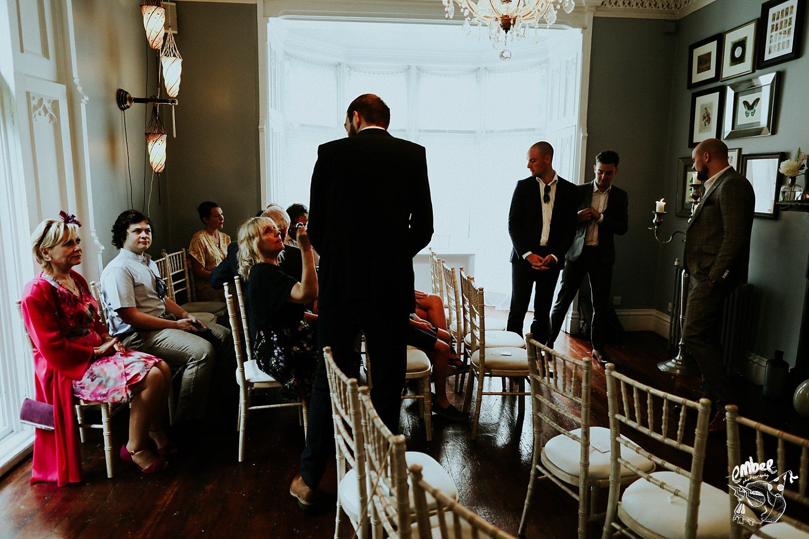 guests in ceremony room